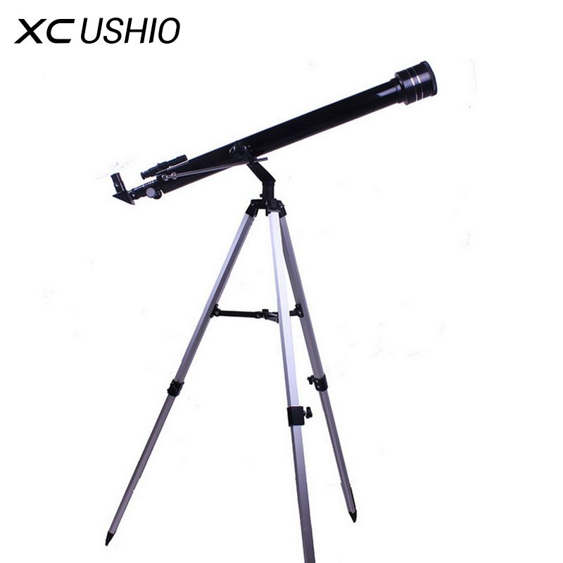 Quality 675 Times <font><b>Zooming</b></font> Outdoor Monocular Space Astronomical Telescope With Portable Tripod Spotting Scope 900/60m Telescopio