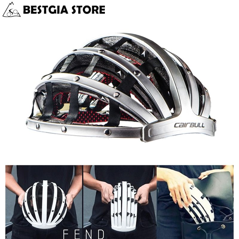 Foldable 2017 New Cycling Helmet Lightweight Portable Safety Bicycle Helmets City Bike Sports Leisure Bike Helmet Casco Ciclismo