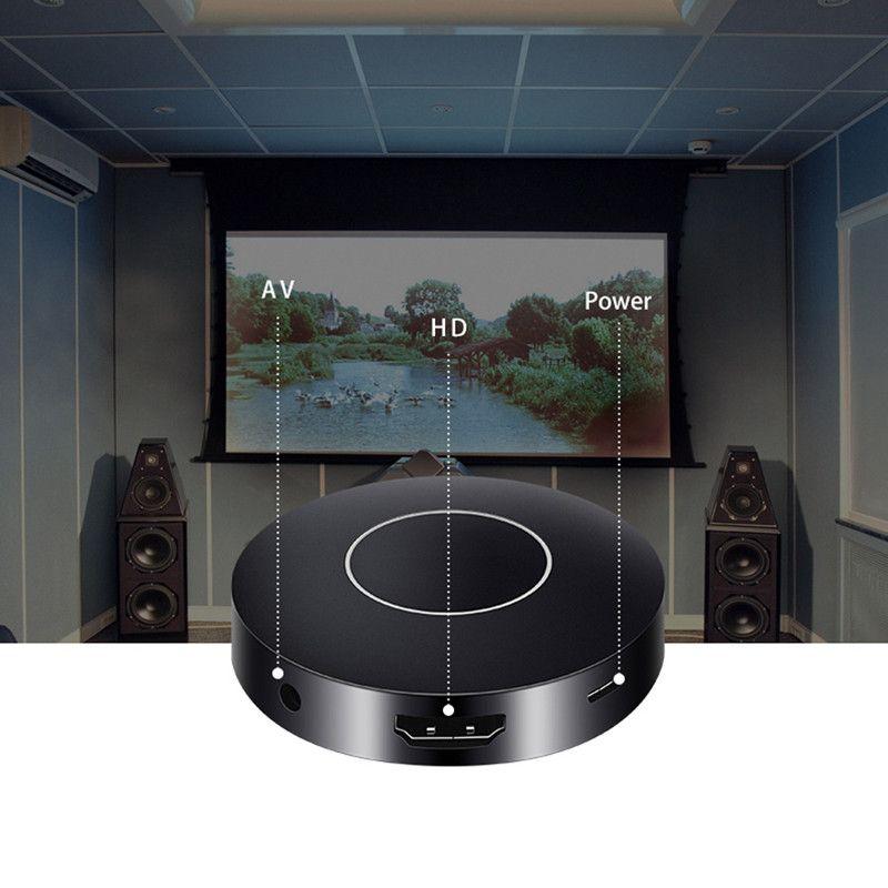 HD + av-ausgang wifi anzeigen receiver dongle DLNA Airplay mini PC Android TV-stick HDMI + USB + Audio video-schnittstelle VS chrome tupfen