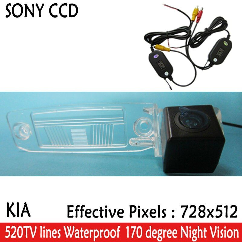 car-styling Car Rear View camera SONY Waterproof  Reverse Backup Parking  Camera with parking lines for Kia Sportage R 2010-2014