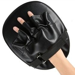 Kickboxen Sanda Boxen Handschuhe Pads Hand Ziel Pad Muay Thai Kick Fokus Punch-Pad Karate Taekwondo Mitt MMA Schaum Boxer ausbildung