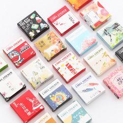 40 Pcs/boîte de Bande Dessinée Belle Mini Papier Autocollant Décoration Stickers BRICOLAGE Album Scrapbooking Seal Autocollant Papeterie Cadeau Matériel Escol
