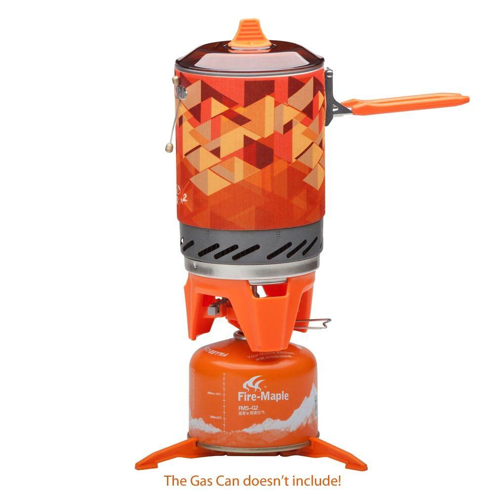Feuer Maple Persönliche Kochen Im Freien Wandern Camping Ofen Tragbare Besten Propan Gasherd Brenner Feuer maple FMS-X2