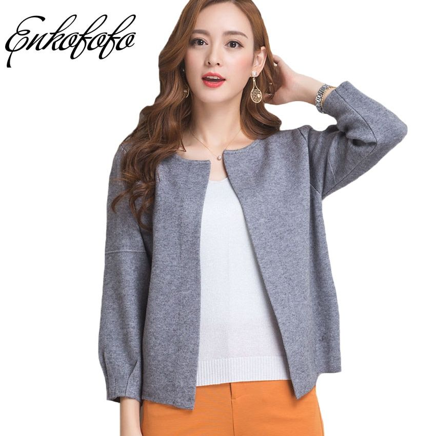Cashmere Sweater Women 2017 New Autumn Brand Long-sleeved Full Cardigans Coat Female Casual Cardigan Thick Wool Sweaters Jacket