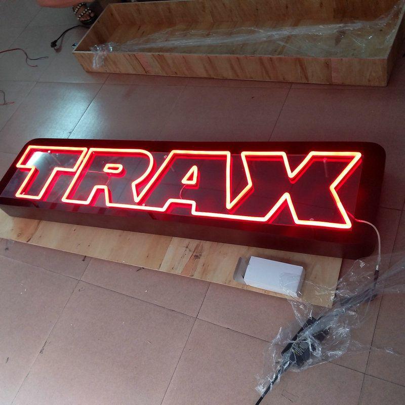 Angepasst shop name flex led neon schild