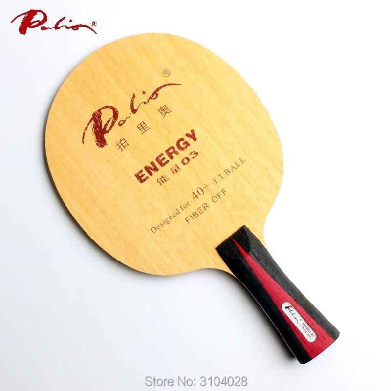 Palio officielles de l'énergie 03 tennis de table lame spécial pour 40 + nouveau matériel tennis de table raquette jeu boucle et rapide attaque 9ply