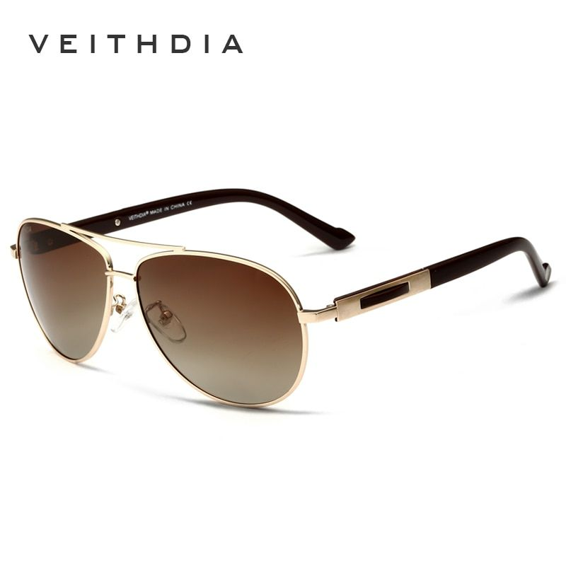 VEITHDIA Polarized Brand Mens Sunglasses Fashion Sun Glasses Eyewear Accessories For Men oculos de sol masculino 3250