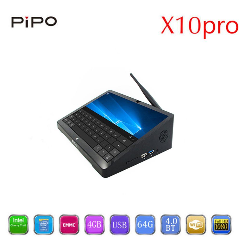 PiPo X10 Pro Mini PC Dual OS Android Windows 10 Mini PC Andriod intel Z8350 Quad Core TV Box 4G 64G WiFi Pipo X10Pro Set Top Box