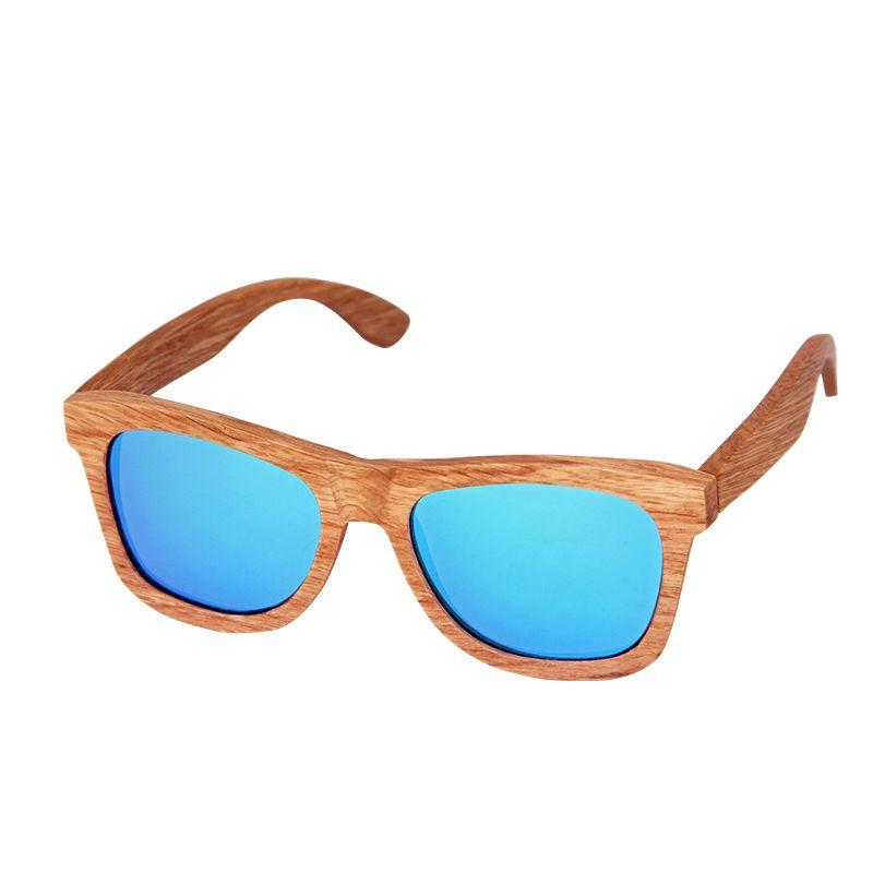 CUUPA Vintage bois luxe lunettes de soleil polarisées pour femmes hommes lunettes de soleil plage couleur l lunettes Anti-UV pour la conduite