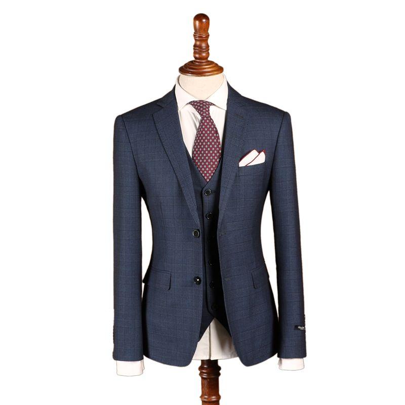 Maß männer Hochzeit Anzüge Zweireiher Klassische Anzug Smoking Business Slim Fit Anzug Bespoke Maß anzug für Bräutigam