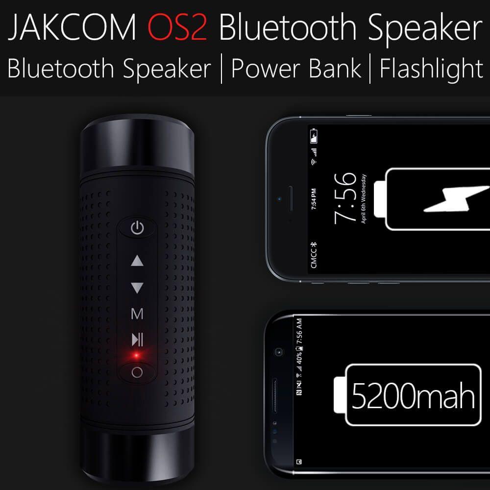 Jakcom OS2 Extérieure Bluetooth Haut-Parleur 5200 mAh Batterie Rapide Charge Rapide Chargeur Type-C pour Android et IOS avec FM Radio Lumière