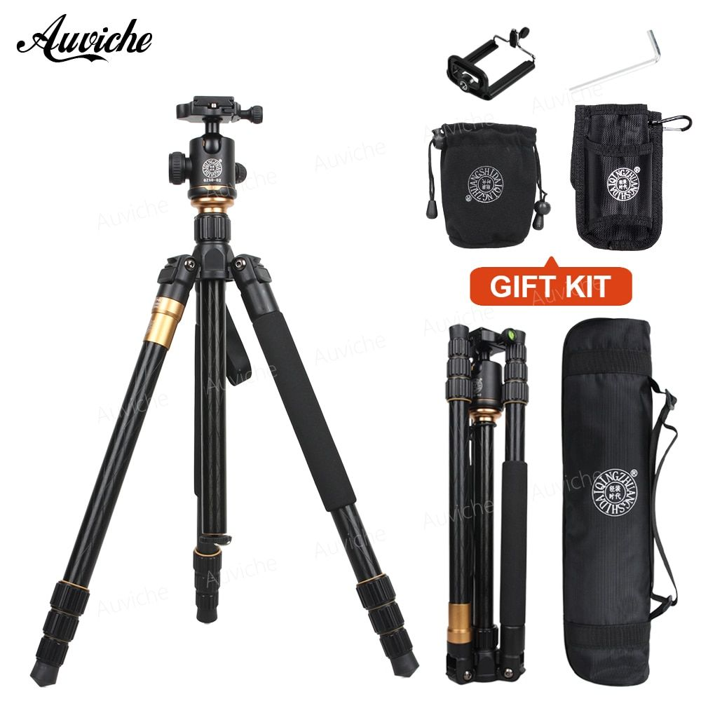 QZSD Q999 Portable Aluminum alloy Tripod For SLR Camera Tripod Ball Head Monopod Changeable Load Bearing 18KG for Digital camera