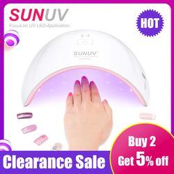 SUNUV SUN9c Плюс 36 Вт 18 Светодиодов УФ-СВЕТОДИОДОВ светильник Ногтя ногтей сушилка для Всех Гели с 30 s/60 s Прекрасно Флэш-решение