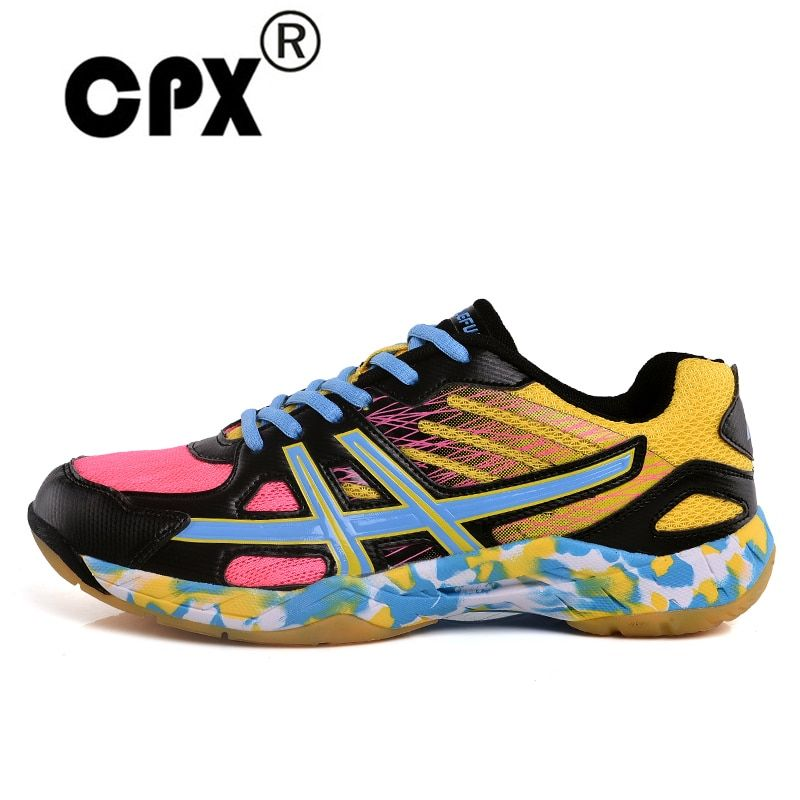 CPX New Men & Women Professional Badminton & Tenis Shoes Lightweight Athletic Shoes Breathable tennis Indoor Sports Sneakers