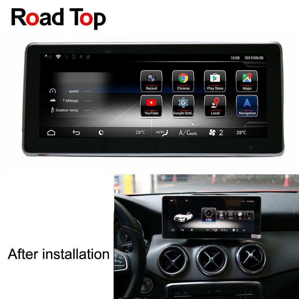 10,25 Android 7.1 Octa 8-Core CPU 2 + 32g Auto Radio WiFi GPS Navigation Bluetooth Kopf Einheit bildschirm für Mercedes Benz EINE Klasse W176