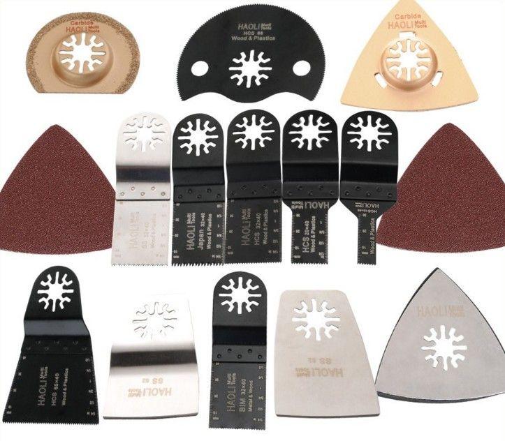 38 pcs oscillant multi outil lame de scie accessoires pour multimaster outil électrique pour la décoration de la maison, comme Fein dremel, coupe en métal
