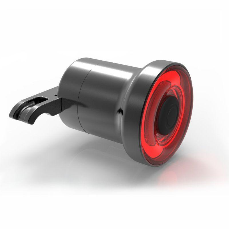 XLITE100 Bicycle Smart Rear Light LED Auto Start/Stop Brake Sensing Lamp IPX6 Waterproof USB Charging Cycling Warning Taillight