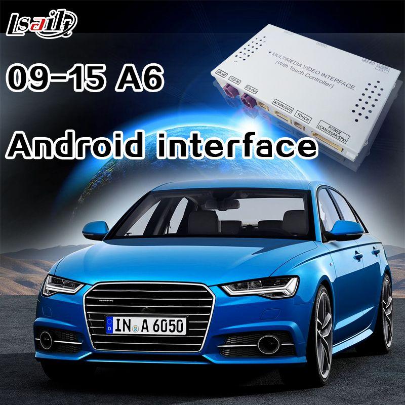 Android 6.0 Navigation Interface für AUDI A6 mit WIFI Netzwerk, Dynamische Parkig Richtlinie