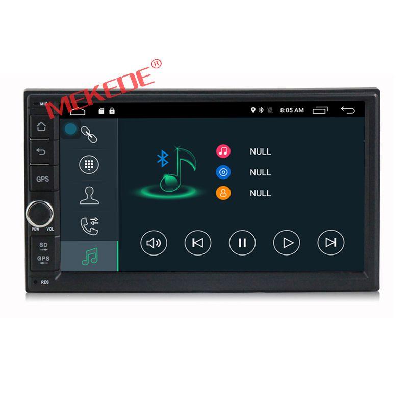 Freies verschiffen Android 7 ''Doppel 2Din Autoradio GPS Universal ohne dvd auto Audio 2 din 7 zoll auto Stereo auto Radio Navigator
