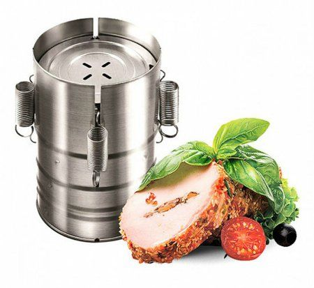 Ham Presses Stainless Steel Meat Burger Burger Making Gadget Ham Press Maker 3 Layers Of Meat Ham Of Kithcen Tools
