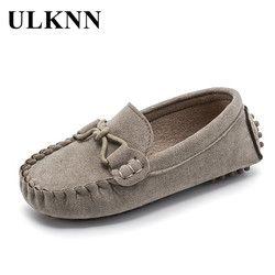 ULKNN niños zapatos para niños zapatos Casual primavera otoño niño bebé Niño Zapatos mocasines terciopelo escolar del estudiante clásico zapato