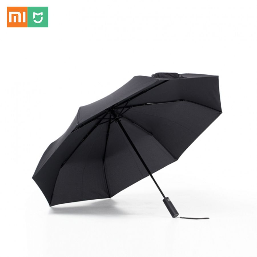New Year Sale Xiaomi Mijia Automatic Folding and Opening 420g Aluminum Umbrella Windproof Man Woman Waterproof For Winter Summer
