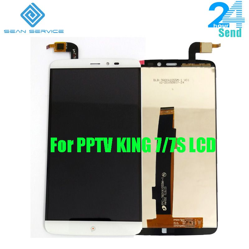 For Original PPTV KING 7/7S LCD Display +TP Touch Screen Digitizer Assembly 6.0 inch 2560x1440P PPTV Phone LCD in Stock +Tools