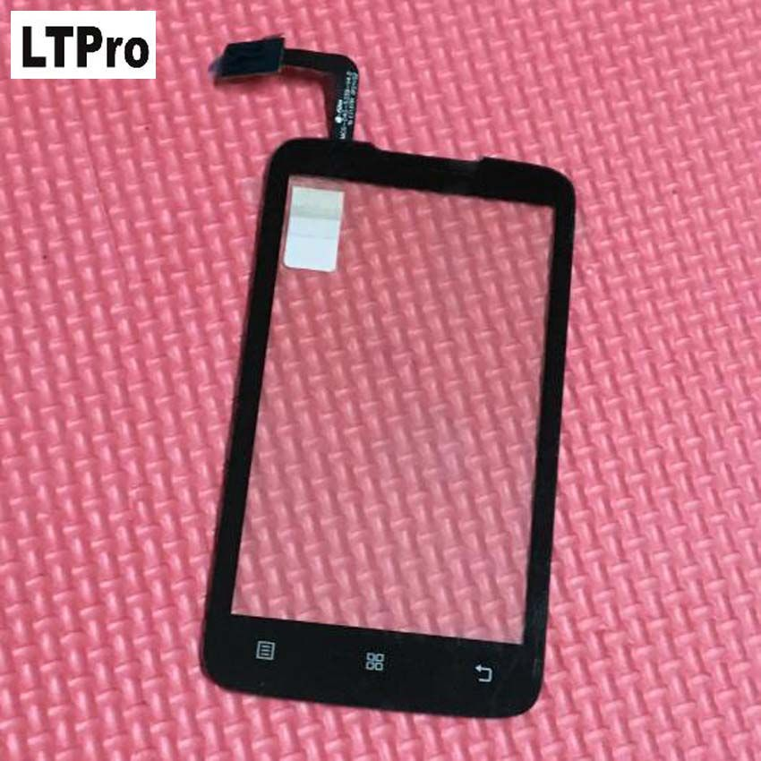 LTPro Wholesale TOP Quality Black Outer Glass Panel Touch Screen Digitizer For Lenovo A316 A316i SmartPhone Replacement Parts