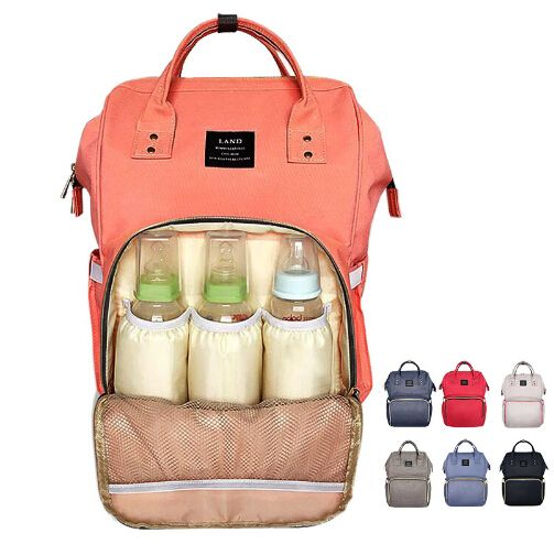 Brand Designer baby diaper bag backpack Big Capacity baby care Mother backpack organizer waterproof traveling nappy changing bag