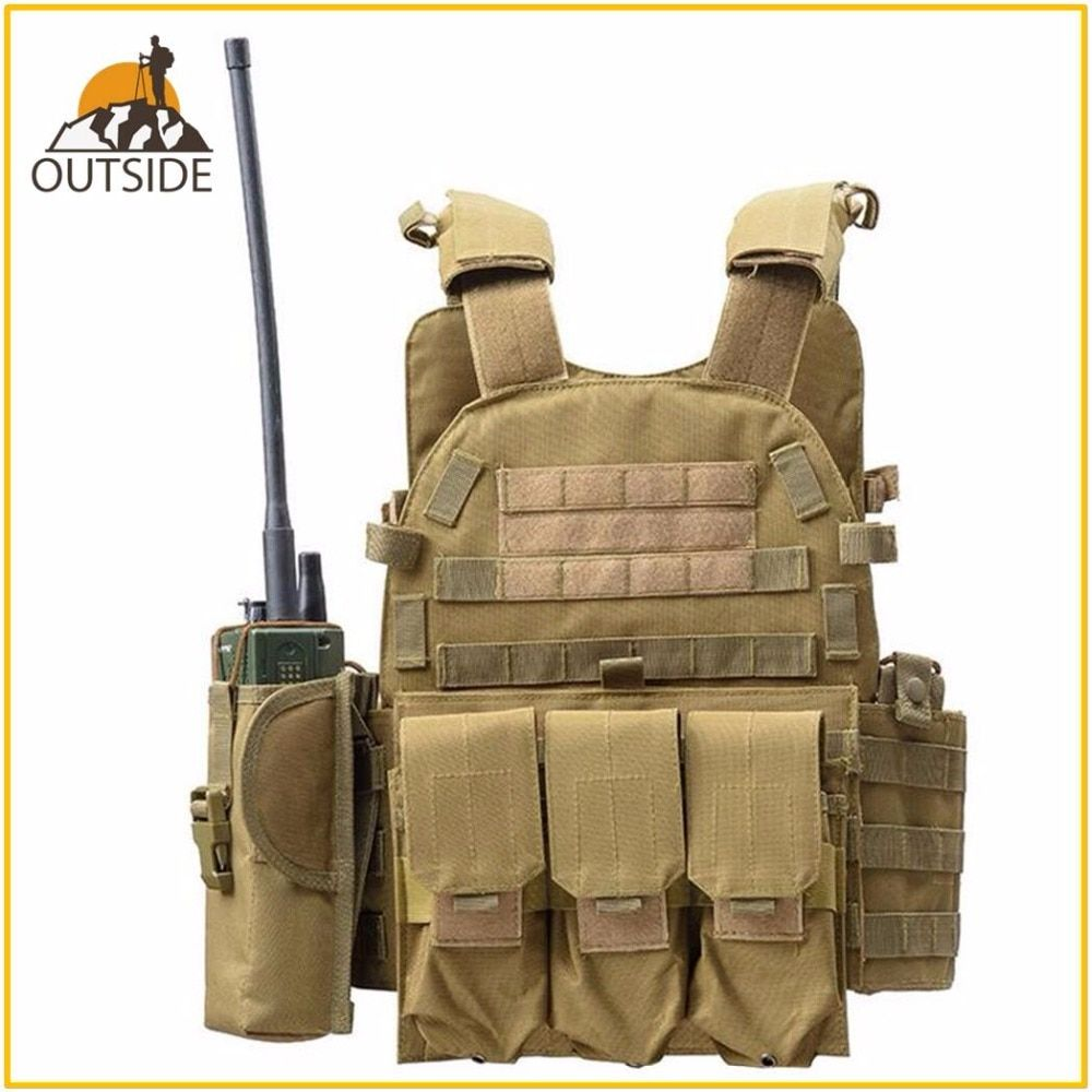 Jagd Tactical Zugehörigkeit Körper Rüstung GPA Plate Carrier Weste Ammo Zeitschrift Chest Rig Airsoft Paintball Getriebe Belastung Tragen Westen
