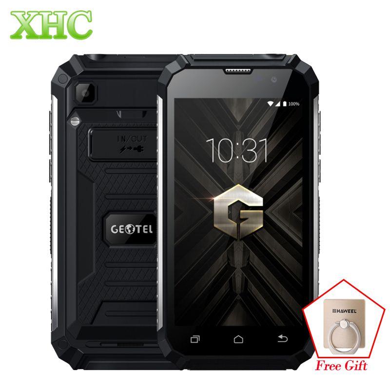 Geotel G1 2GB+16GB Shockproof Smartphones 7500mAh 5.0'' Android 7.0 MTK6580A Quad Core 1280 x 720 WCDMA 3G Dual SIM Mobile Phone