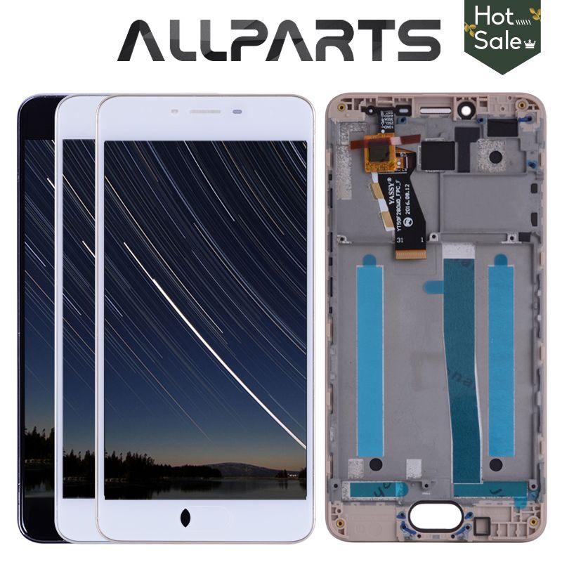 Nouveau 5.0 1280x720 Noir Blanc M3S Mini LCD Pour MEIZU M3S Affichage Écran Tactile Digitizer M3 S LCD Écran Y685H remplacement