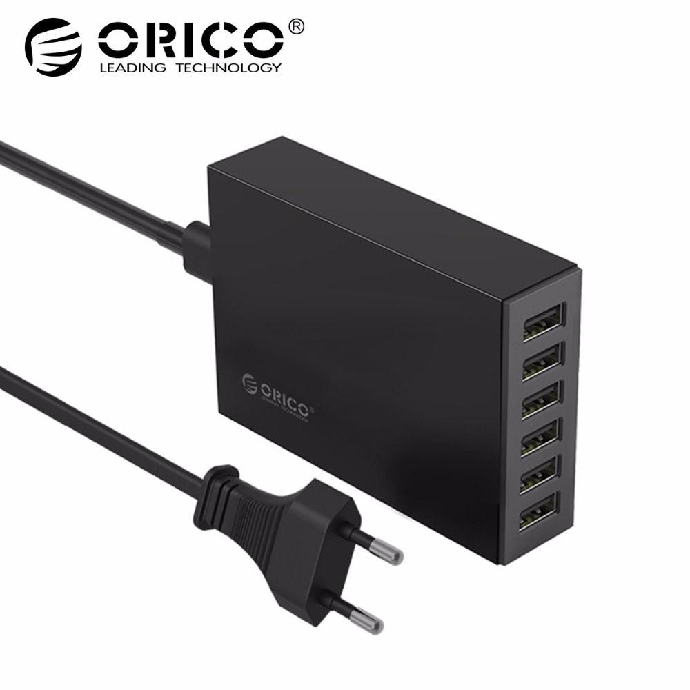 ORICO CSL 5V2. 4A Chargeur De Bureau Adaptateur USB Ports De Bureau Chargeur UE Plug pour Xiaomi Samsung Huawei