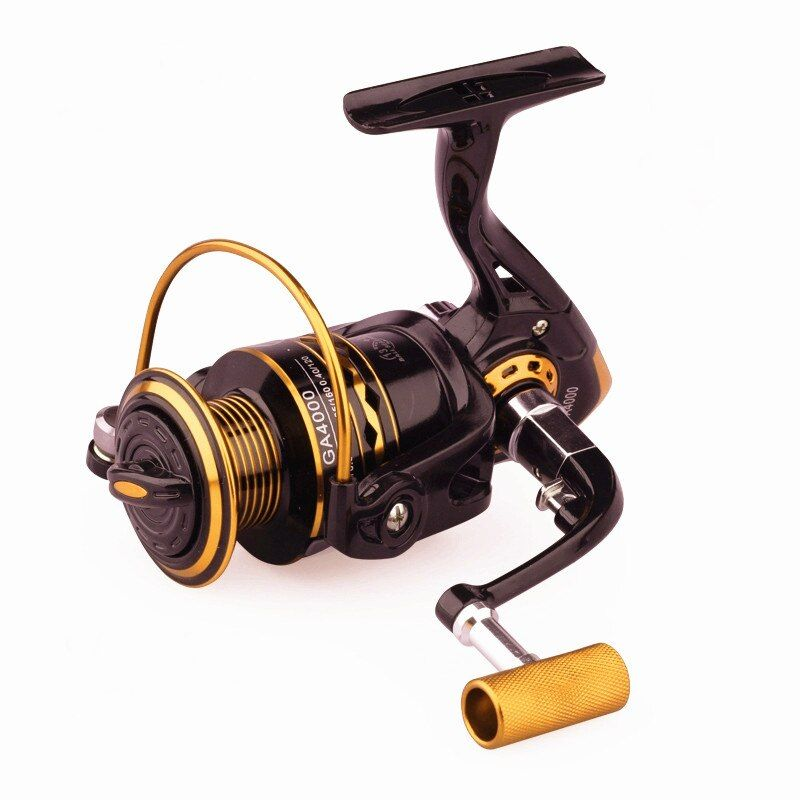 Ultra-light 14 Bearing Balls Spinning Reel Fishing 1000-6000 Metal Left/Right Handle Fishing Reel 5.2:1 Seawater freshwater