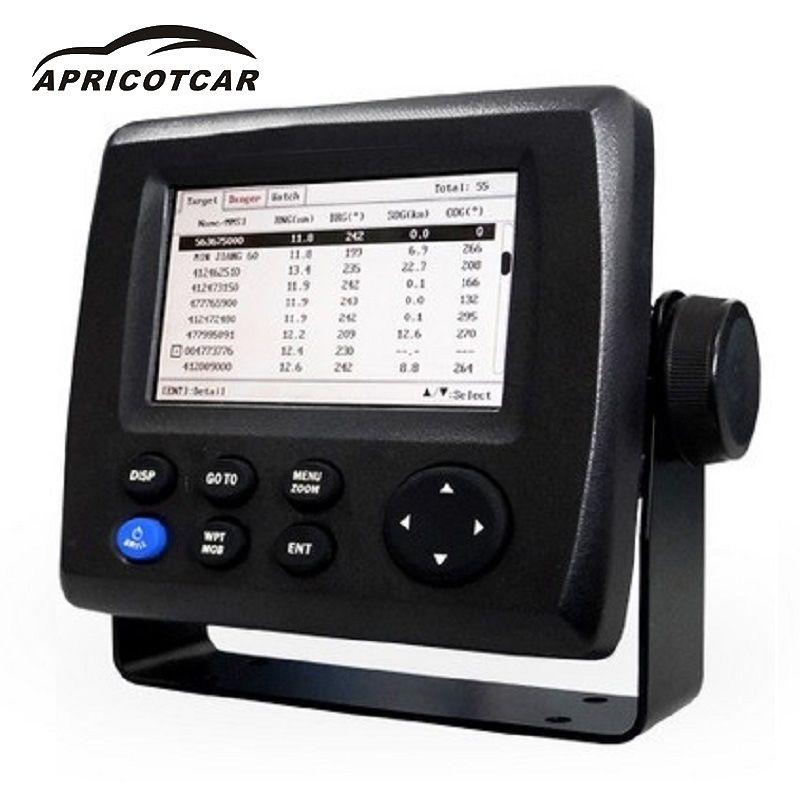 4,3 LCD Klasse AIS Transponder marine ais empfänger Wiederaufladbare gps für boot fisch finder GPS Tracker Navigator sender