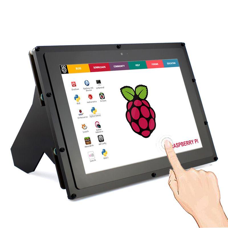 Elecrow Raspberry Pi Screen IPS 10.1 Inch Touchscreen HDMI LCD Monitor 1280*800 Display for Raspberry Pi 3 2 Windows 10/8/7
