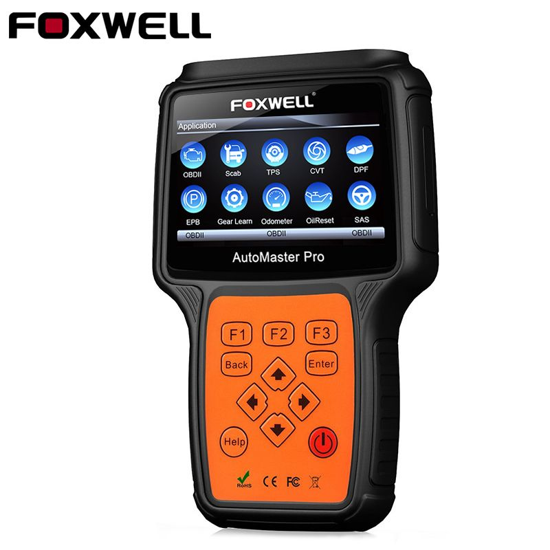 Foxwell NT644 Pro OBD2 Diagnostic Tool Automotive Scanner Airbag ABS SAS EPB Oil Service DPF Reset ODB2 Car Diagnostic Tool