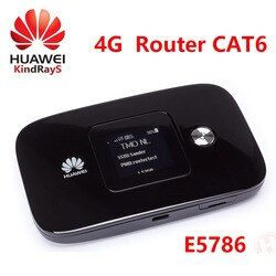 LTE Router CAT6 300 Mbps Unlocked Huawei E5786 E5786s-62a 4G LTE Mif Router 4G Wifi Dongle PK E5776 e5577 E5786s E5770