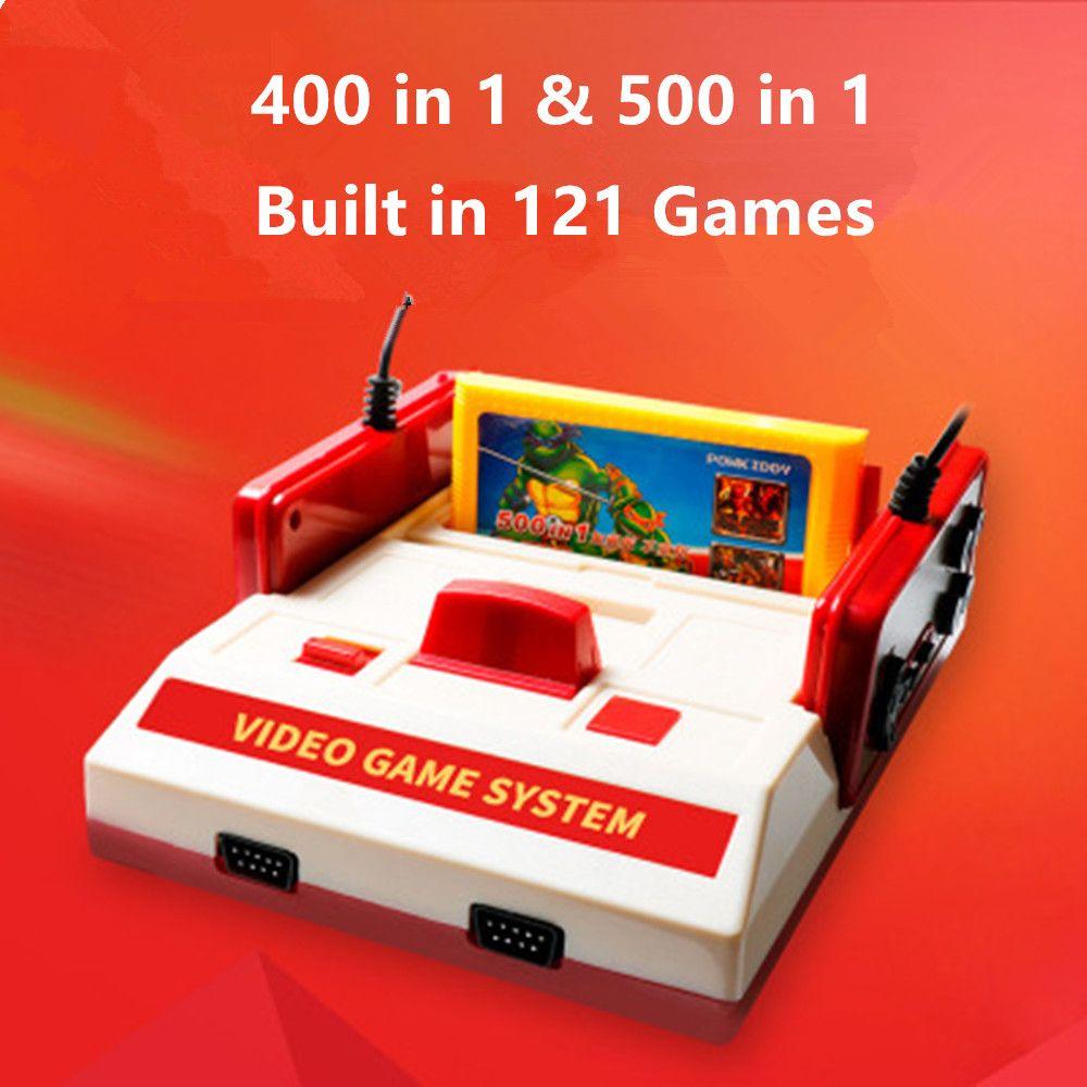 2017 nouveau Subor D99 Console de jeu vidéo classique famille TV consoles de jeux vidéo lecteur avec 400 IN1 + 500 IN1 jeux cartes pour choisir