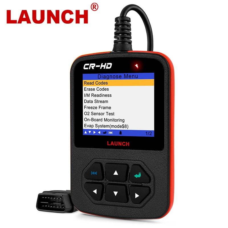 Diagnostic Tool Automotive Scanner Launch CRHD Auto Diagnostic Tool For Heavy Duty Truck with J1939 J1587 J1708 For Heavy Duty