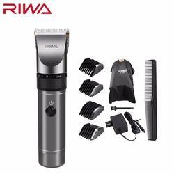 Riwa Professional машинка для стрижки волос 2000 мАч литиевая батарея Алюминий 100-240 В машинка для стрижки волос X9 триммер для волос Бритва