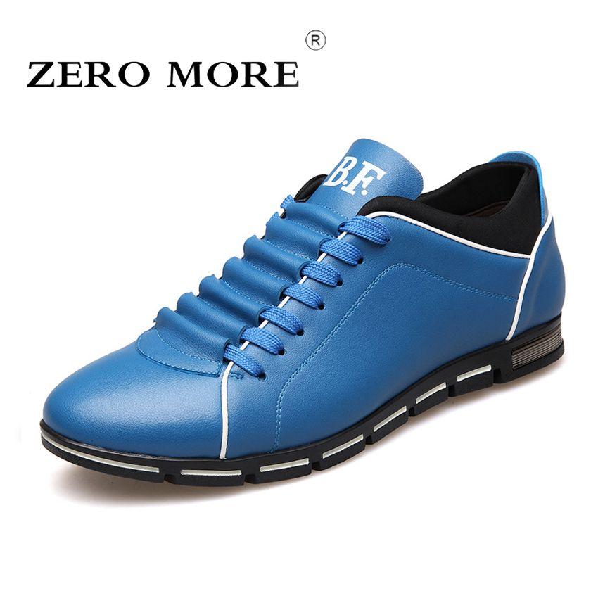 Big Size 38-48 Men Casual Shoes Fashion Leather Shoes for Men Summer Men's Flat Shoes Dropshipping
