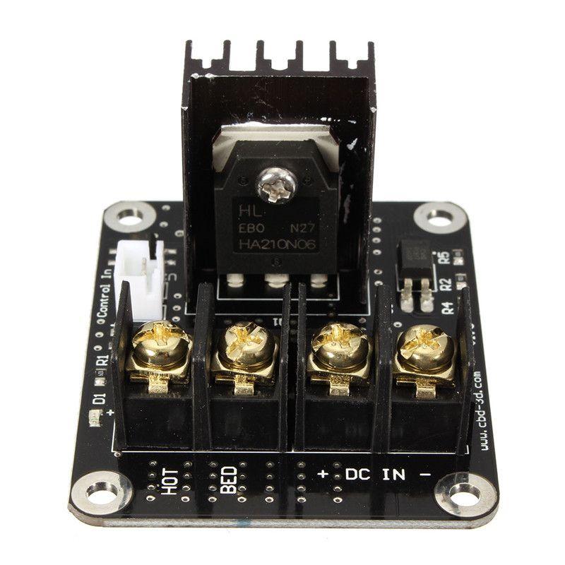 Pièces d'imprimante 3D Module d'extension de Module d'expansion de puissance de lit chauffant d'ajout général de Module de puissance élevée pour l'imprimante 3D
