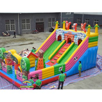10*6M Inflatable Bounce House Inflatable Combo Slide Bouncy Castle Jumper Inflatable Bouncer for sale