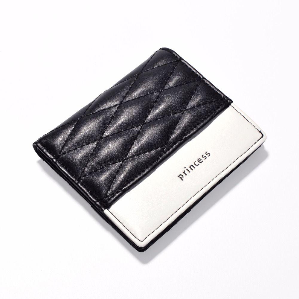 AOEO women wallets Mini Plaid Thread Short Purse Ladies Perse Slim Purse For girls womens wallets and purses Thin wallet female