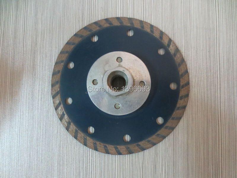 Lame de scie circulaire diamantée turbo 115,125X7X5/8