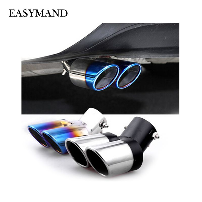 Car Auto Exhaust Muffler Car-Styling Car Exhaust Pipe Tail Pipes For Chevrolet Cruze TRAX Aveo Sonic Lova Sail EPICA Captiva