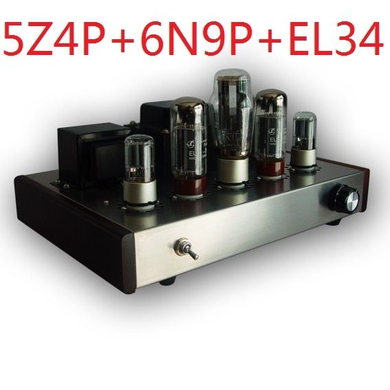 2017 Nobsound promotional single end Tube Amplifier Mounted Version 5Z4P+6N9P+EL34-B suite electron tube amplifier 13W+13W