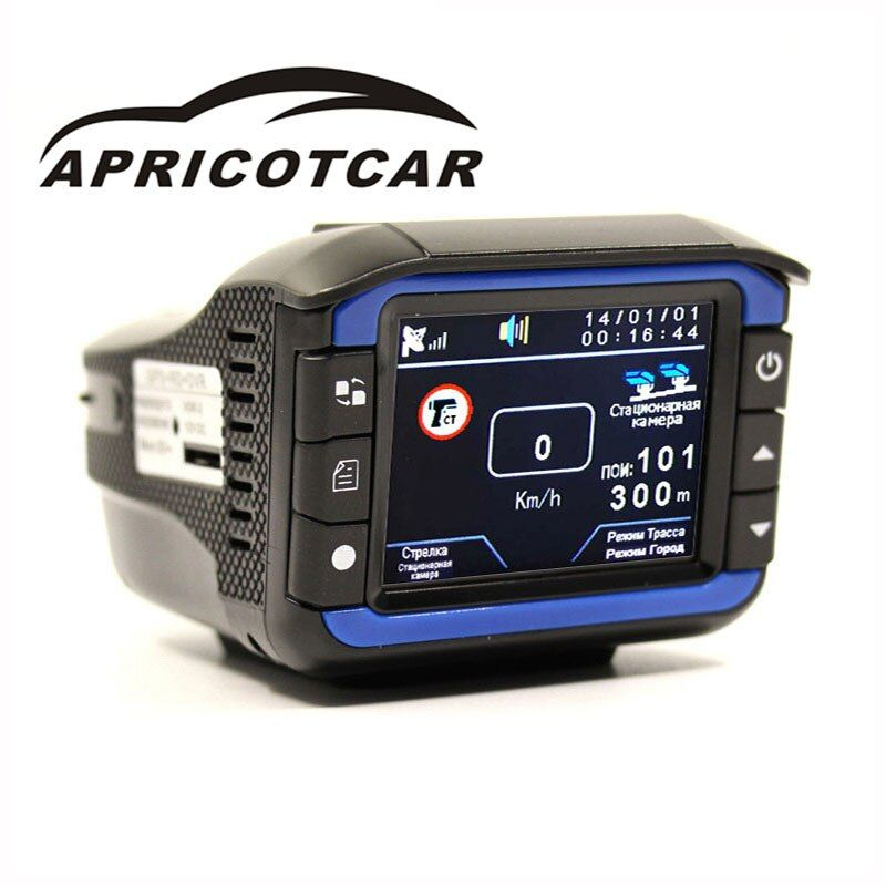 3 in 1 electronic dog one machine GPS + RD + DVR precise positioning fixed flow speed radar detector driving recorder