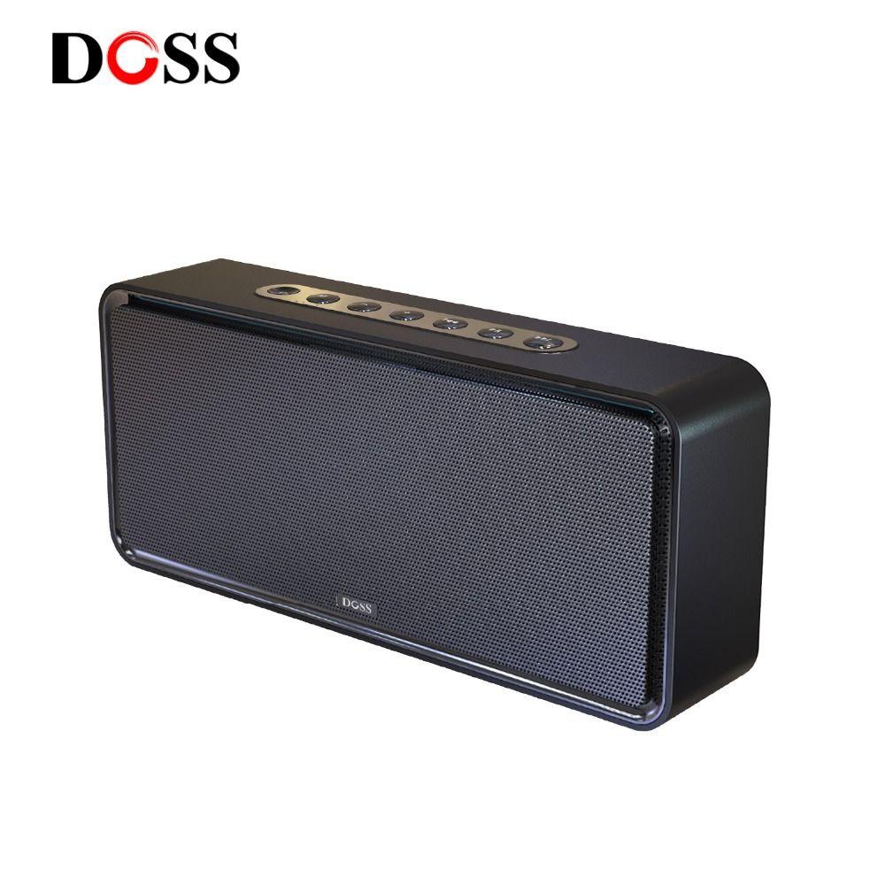 DOSS SoundBox XL Tragbare Wireless Bluetooth Lautsprecher Dual-Fahrer 3D Stereo Bold Bass Subwoofer Musik Surround Unterstützung TF AUX USB